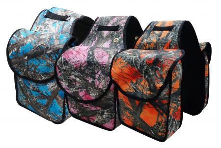 True Timber Camo Print Saddle Bags - 248396