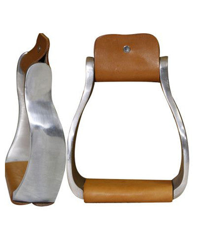 Polished Aluminum Offset Stirrups - #22572