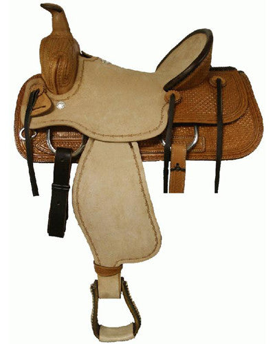 Blue River Roping Saddle - #96010