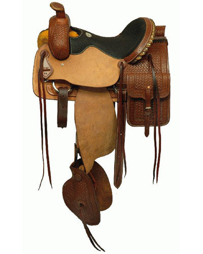 Blue River Roping Saddle - #9612716