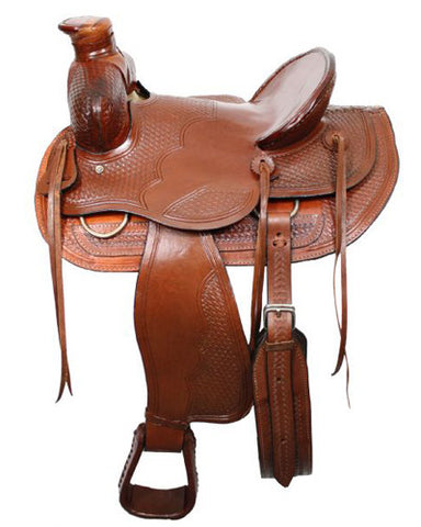Buffalo Ranch Saddle - #026