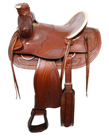 Buffalo Ranch Saddle - #026x