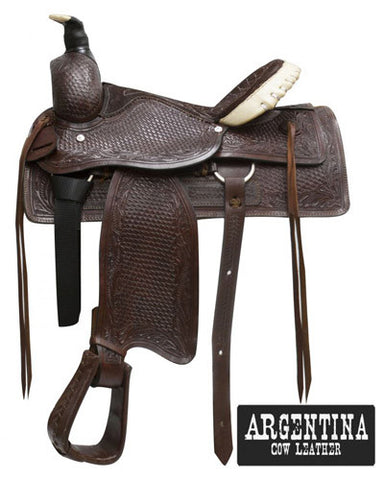 Buffalo Roping Saddle - #035416