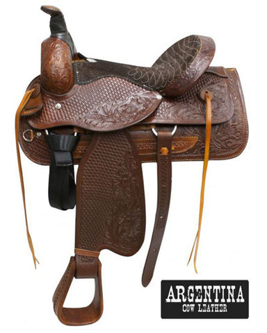 Buffalo Roping Saddle - #607x