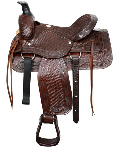 Buffalo Roping Saddle - #1000x