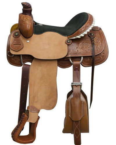 Circle S Roping Saddle - #6605