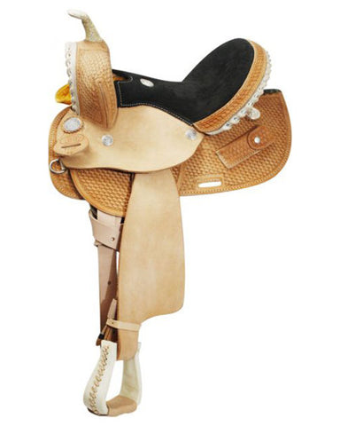 Circle S Barrel Saddle - #1280R