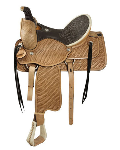 Circle S Roping Saddle - #1899