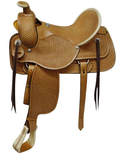 Circle S Roping Saddle - #1902