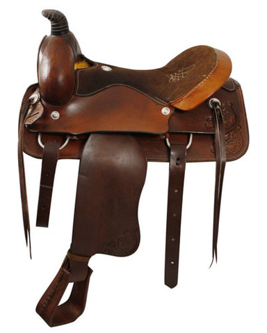 Circle S Roping Saddle - #1952
