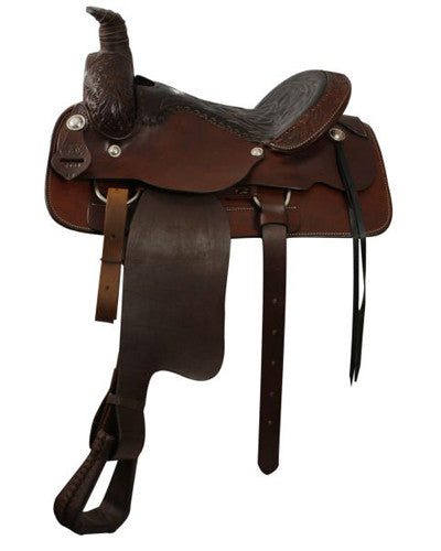 Circle S Roping Saddle - #2000
