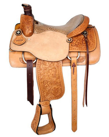 Circle S Roping Saddle - #6398