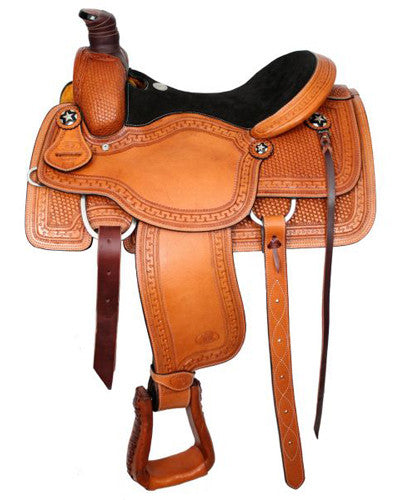 Circle S Roping Saddle - #639916