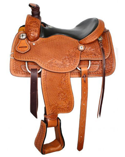 Circle S Roping Saddle - #6401