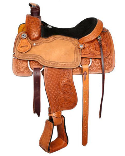 Circle S Roping Saddle - #6410