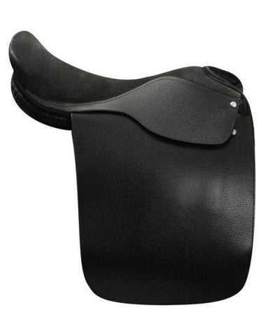 Cutback Style English Saddle - #1001