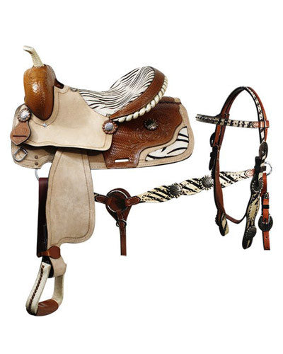 Double T Barrel Saddle Set - #01016