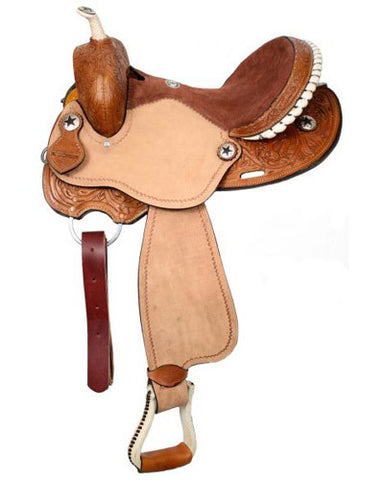 Double T Barrel Saddle - #494
