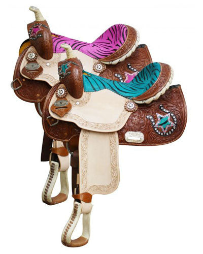 Double T Barrel Saddle - #510713