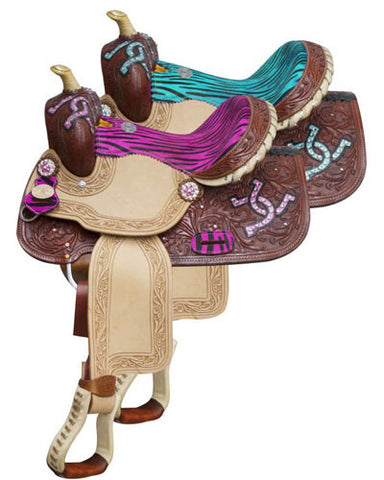 Double T Barrel Saddle - #511413