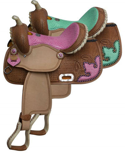 Double T Barrel Saddle - #511813