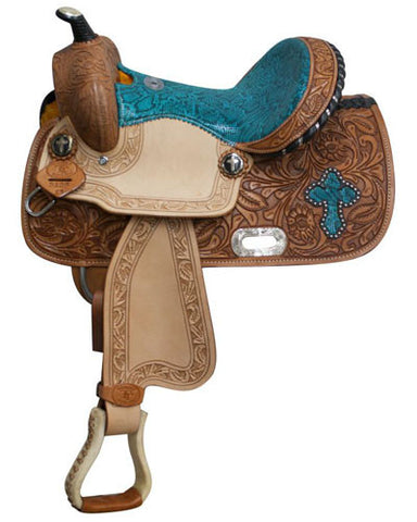 Double T Barrel Saddle - #512313