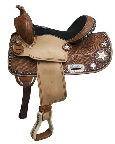 Double T Barrel Saddle - #512813