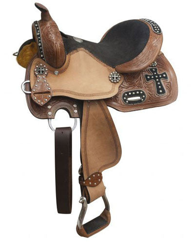 Double T Barrel Saddle - #555