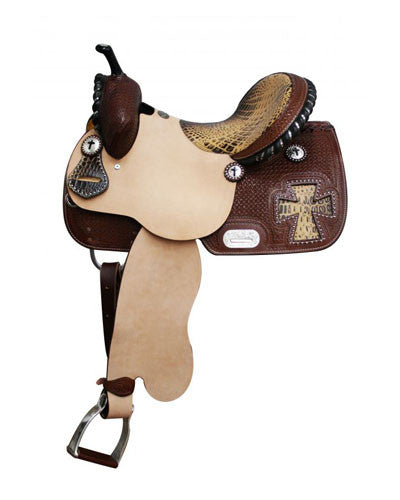 Double T Barrel Saddle - #6396