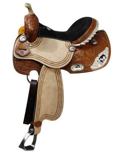 Double T Barrel Saddle - #6483