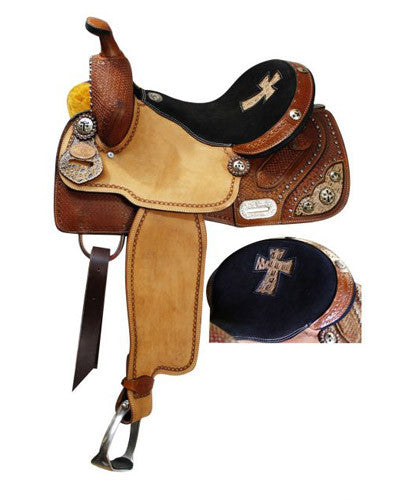 Double T Barrel Saddle - #6507