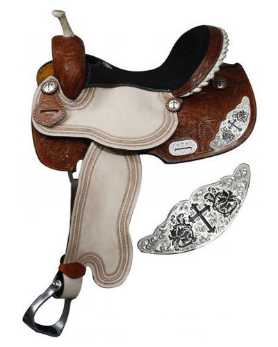 Double T Barrel Saddle - #6539