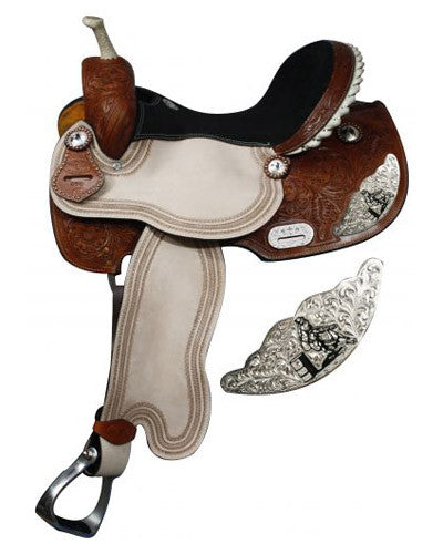 Double T Barrel Saddle - #6540