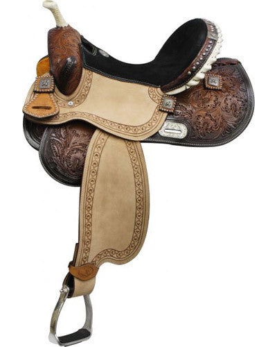 Double T Barrel Saddle - #6556