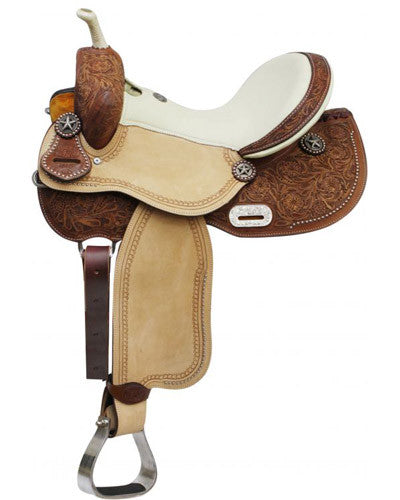 Double T Barrel Saddle - #6560W