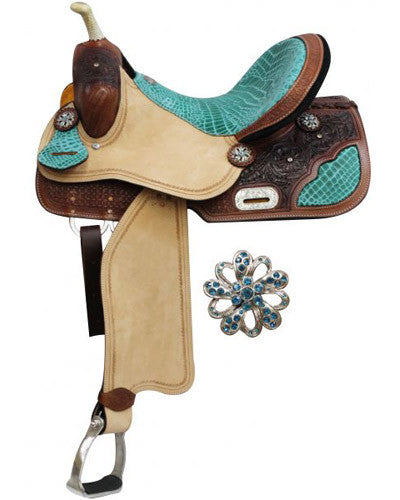 Double T Barrel Saddle - #6562
