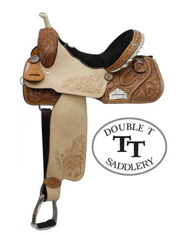 Double T Barrel Saddle - #6568