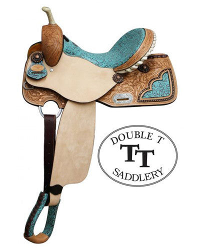 Double T Barrel Saddle - #6576
