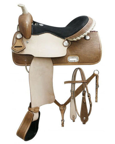 Double T Barrel Saddle Set - #7654set