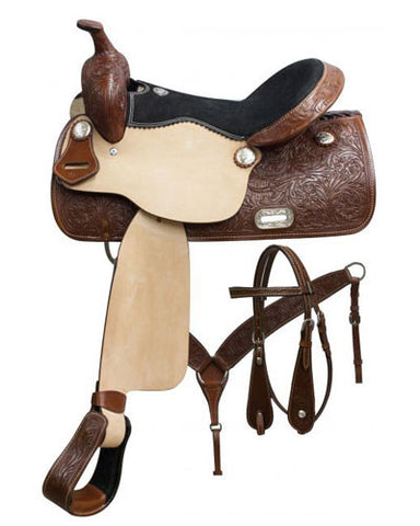 Double T Pleasure Saddle Set - #7656
