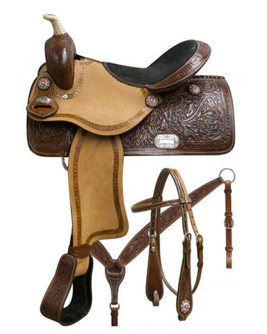 Double T Barrel Saddle Set - #7657set