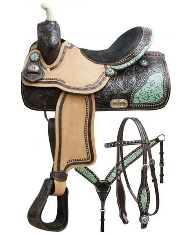 Double T Barrel Saddle Set - #7658