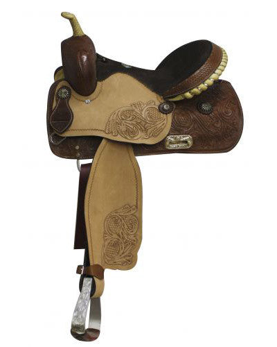 Double T Barrel Saddle - #9051