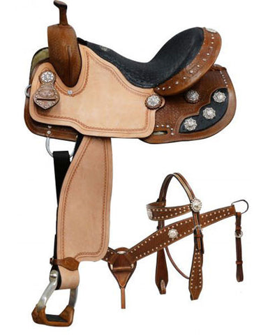 Double T Barrel Saddle Set - #041x
