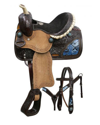 Double T Pony Saddle Set - #786310