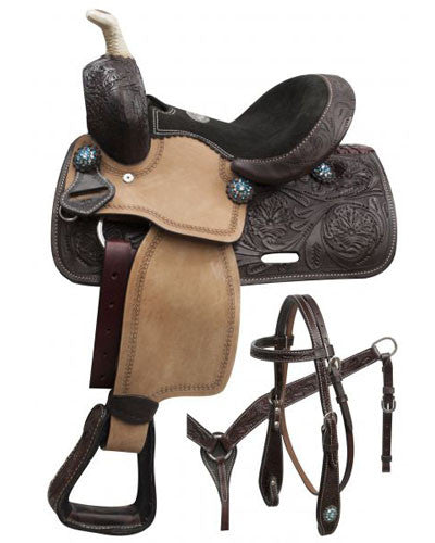 Double T Pony Saddle Set - #786510
