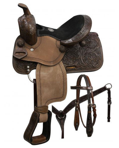 Double T Pony Saddle Set - #786610
