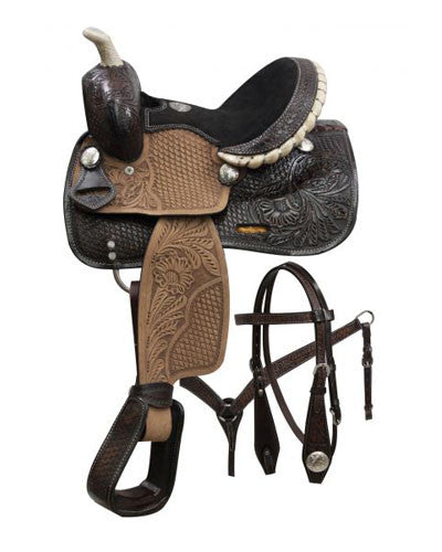 Double T Pony Saddle Set - #786710