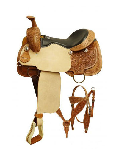 Double T Roping Saddle Set - #5163