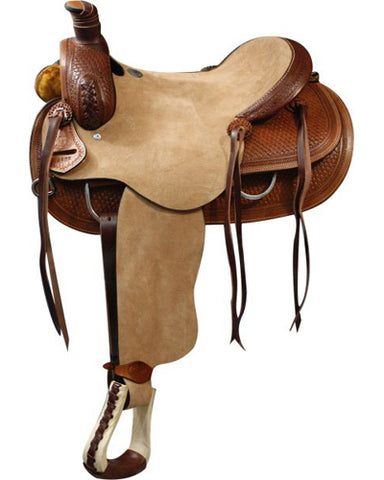 Double T Roping Saddle - #6495